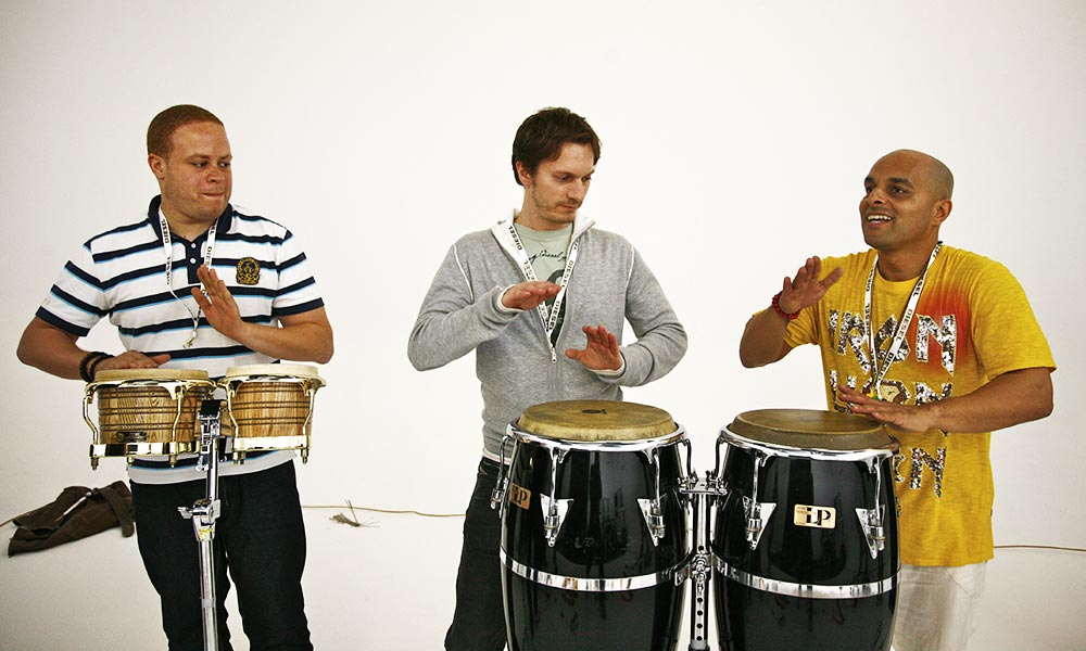 Shovell's Universal Rhythm Drum Workshop